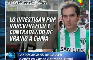 ¿Carlos Ahumada Kurtz? Presidente de Estudiantes de San Luis