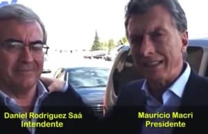 Daniel Rodríguez Saá y Mauricio Macri