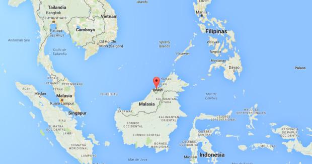 brunei-mapa