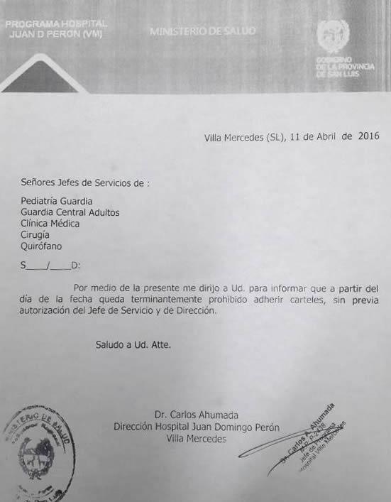 NOTA: Dr Carlos Ahumada