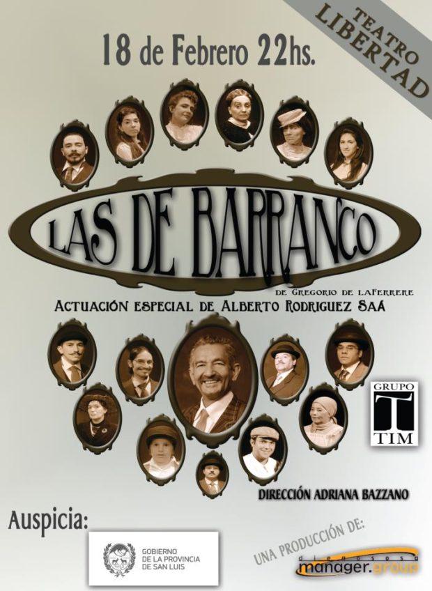 Diego Sosa fue el productor  de las obras de teatro de Alberto Rodríguez Saá