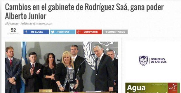 Semanas atrás, El Puntano adelantaba en exclusiva las renuncias.