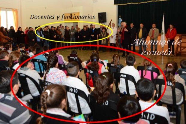 Anchorena. Rodríguez Saá anuncia luces y puesta en valor del Boulevar.