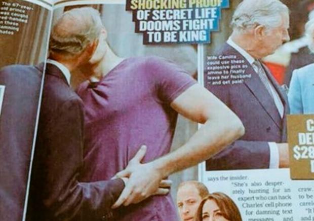 El príncipe Carlos a los besos con su joven novio – El Puntano