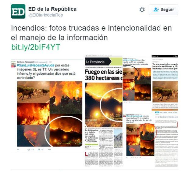 A página completa contestó Rodríguez saá desde su diario.
