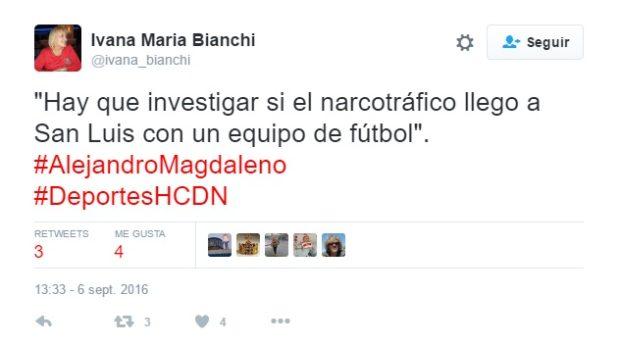 Magdaleno tira la piedra pero esconde la mano, nada dijo del Presidente del club al que hace mención.