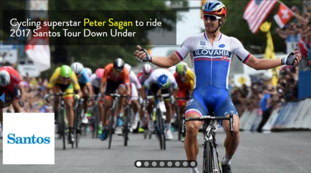 Peter Sagan no viene a San Luis