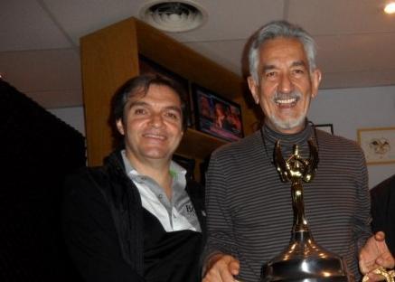 Carlos Ahumada Kurtz junto a Alberto Rodríguez Saá