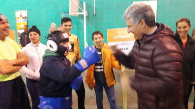 El boxeo fue una de las disciplinas que más creció durante la gestión de Poggi en el gobierno provincial.