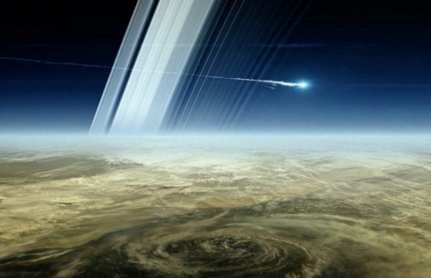 Atmosphere of the planet Saturn